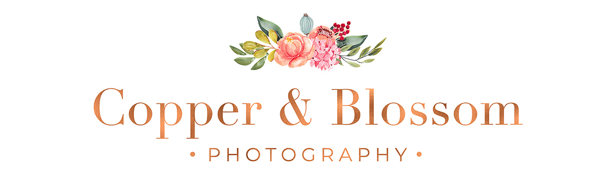 Copper and Blossom Photography
