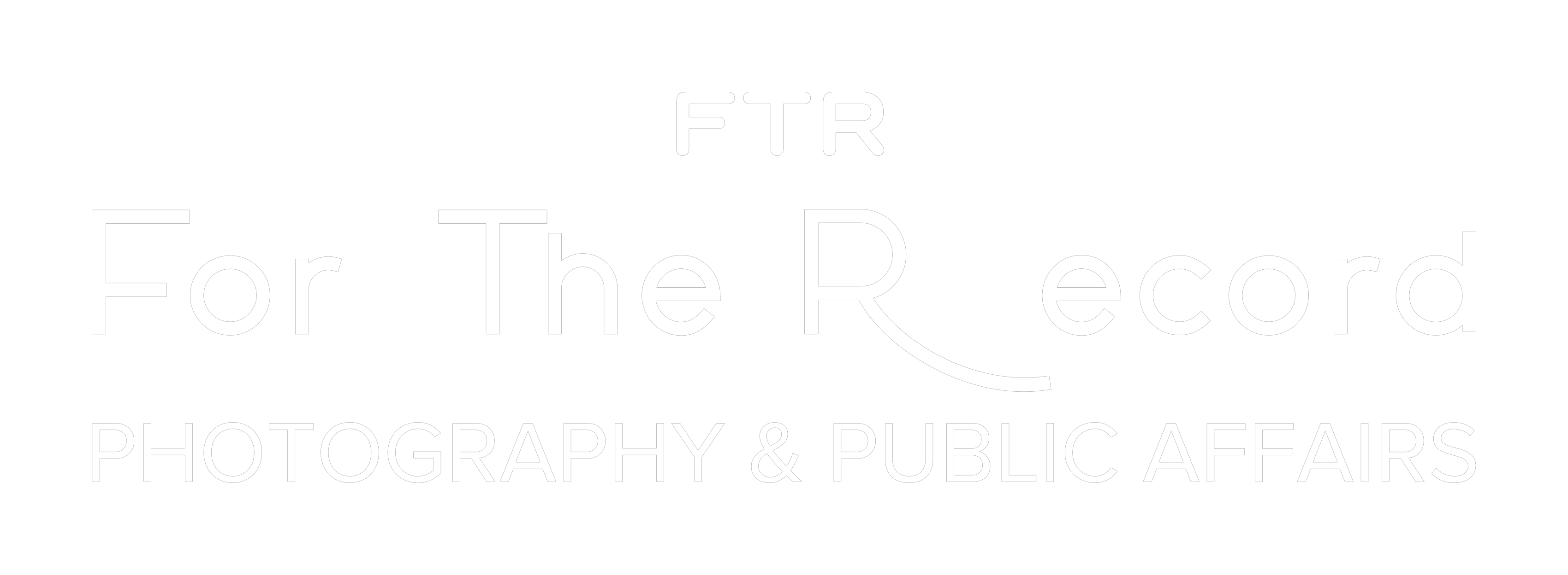 For The Record Photography and Public Affairs, Inc.